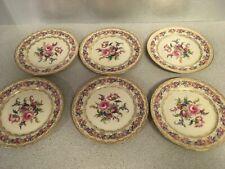 """Lot of 6 Vintage Rosenthal Ivory Bavaria VIENNA 7.75"""" SALAD plates 3 of 11"""