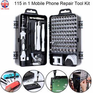 115 in 1 Mobile Phone Repair Tool Kit Screwdriver Set For iphone Laptop Computer