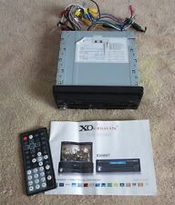 """XO Vision X348NT 7"""" Wide In-Dash Touch Screen Car DVD Player"""