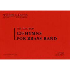 120 Hymns for Brass Band - Solo Horn Part Book (A4 Large Print Edition)