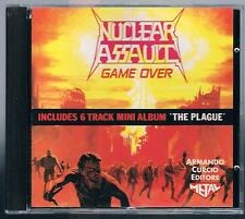 NUCLEAR ASSAULT GAME OVER CD ARMANDO CURCIO ED.