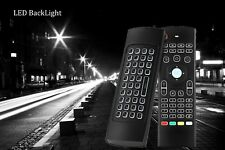 MX3 Backlight 2.4G Wireless Fly Air Mouse Remote Control For Android TV Box
