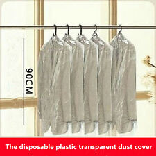 20 PCS/disposable plastic dust cover clothing storage bag chest hang clothes
