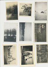 Foto Konvolut Wehrmacht Soldaten  9 Stück 2.WK gemischt (h503)