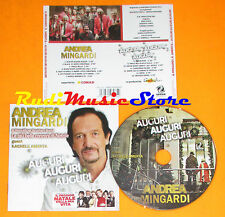 CD ANDREA MINGARDI RACHELE AMENTA Auguri 2012 SAIFAM COM 1292-2(Xi4) lp mc dvd