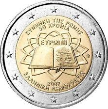 GRECIA 2 EUROS 2007 TRATADO DE ROMA - SIN CIRCULAR