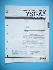Service Manual für Yamaha YST-A5  ,ORIGINAL