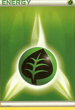 POKEMON - GRASS ENERGY CARD FROM THE PLASMA BLAST ELITE TRAINER BOX