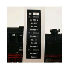 0063 Lokschilder BR 120 240-7 / V 200 240 DR H0