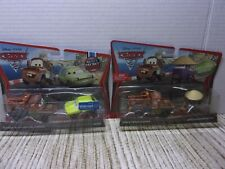 DISNEY PIXAR CARS MATER WITH SPY GLASSES AND ACER-RACE TEAM MATER AND ZEN