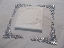 ***** SILICONE RUBBER MOULD ORNATE FRAME CORNERS PICTURE MIRROR FRAME *****