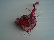 Coeur en verre presse papier