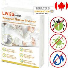 LIVINGbasics® Hypoallergenic Waterproof Mattress Protector cover King Queen Full