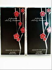 Bath Body Works JAPANESE CHERRY BLOSSOM Eau De Toilette EDT, 2.5 oz., NEW X 2