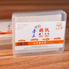 500 feuilles de riz gluant comestible papier bricolage emballage de nougat