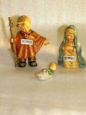 Goebel Hummel 223/0 Kinder Krippe Set 3 Tlg. Komplett Heilige Familie