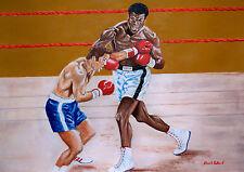 Ali v Jerry Quarry by David Putland - A3 Limited edition Prints - Boxing Art