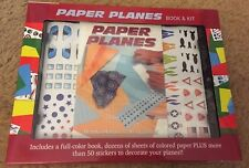 Paper Planes Book & Kit Stickers Kids Craft Boys Girls Nib New Sealed Christmas