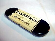 vintage aspirin style medicine empty Panodynes Analgesic tin