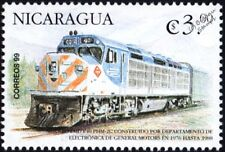 METRA General Motors EMD Class F40C Diesel-Electric Train Stamp (USA)