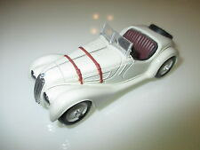 BMW 328 Roadster Cabriolet Cabrio Corniche Convertible in creme, Schuco in 1:43!