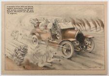 BIBENDUM MICHELIN XXXI° Salone dell'Automobile cartolina pubblicitaria omaggio