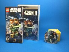 Lego Star Wars III The Clone Wars (PSP) 50% off shipping on additional purchase