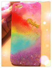 Customized BLiNG BLiNG crystal iphone case<Rainbow>