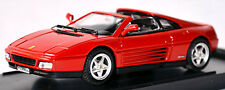 Ferrari 348 TS Stradale 1989-93 Red Red 1:43 Bang