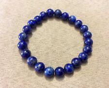 perles de gemme Lot de 10 perles lapis lazuli de 8 mm pierre naturelle-vtp026