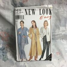 New Look 6409, Tunic, jacket, pants, lagenlook vintage sewing Pattern size Sm-XL