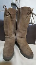 LILLEY+SKINNER Made in Italy Women's Suede Boots -size UK 6/ EU 39-