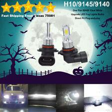 H10 9145 LED Fog Driving Light Bulbs Kit Super Bright Canbus 45W 6000K White