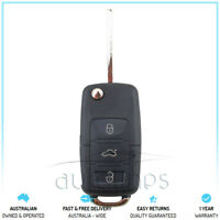 Complete VW Remote Key 3 Button 433MHz Fits Golf Polo Jetta Tiguan 5K0959753AB
