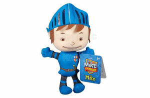 SFK Fisher-Price Mike The Knight: Mike Plush beanie stuffed toy huggable pillow