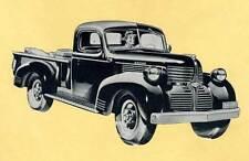 Dodge Pickup Truck Steel Running Board Set 1939-1947 - Made in USA