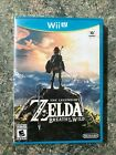 New & Sealed!!! The Legend of Zelda: Breath of the Wild Wii U Read!