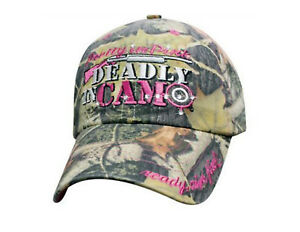 Women's Full Pink Camo Hat Country Muddy Southern Girl Hunt Deer Hunting Hat