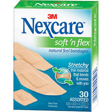 Nexcare Soft and Flex Assorted 30 ct bandages
