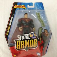 Batman the Brave and the Bold -TOTAL ARMOR  STEEL POWER SUPERMAN