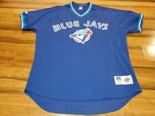 Vtg Toronto Blue Jays Throwback Jersey Home Russell Athletic diamond collection