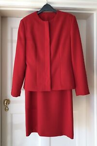 Principles Petite UK12 Two Piece Red Jacket & Dress