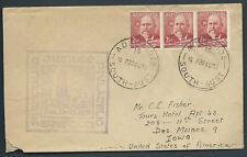 1951 South Australia Jubilee Philatelic Exhibition Souvenir Cover Bergen