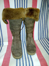 Ted Baker Sheepskin Boots UK Size 5