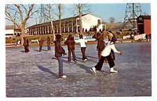 Lancaster Pennsylvania Postcard Motor Inn Restaurant Ice Skating Willow Valley