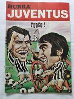 HURRA' JUVENTUS N. 10 OTTOBRE 1971 + POSTER MARCHETTI MATTREL FACCHETTI HALLER