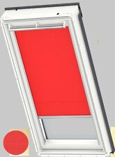 Genuine VELUX Roller Blackout Blind RFL 101 4159 S BRIGHT RED New - Unopened Box