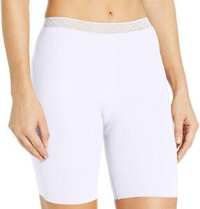 Vassarette Women's Invisibly Smooth Slip Short Panty 4812385 White 7/Large