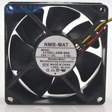 NMB-MAT fan 3110KL-05W-B59 8025 80mm 8cm DC 24V 0.15A 3-line server inverter fan