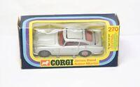 Corgi 270 James Bond Aston Martin DB5 In Its Original Box - Near Mint 007